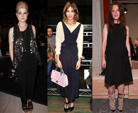 Pictures of Celebs at New York Fashion Week Spring 2011