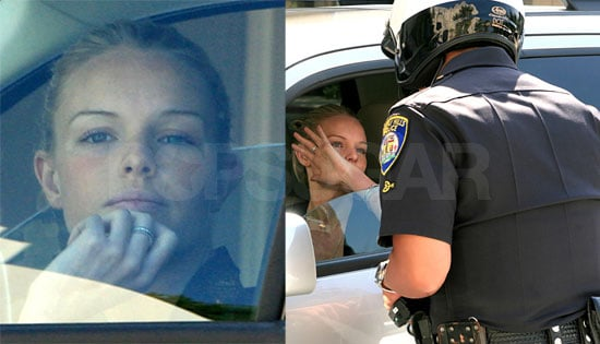 Even Kate Bosworth Gets Pulled Over