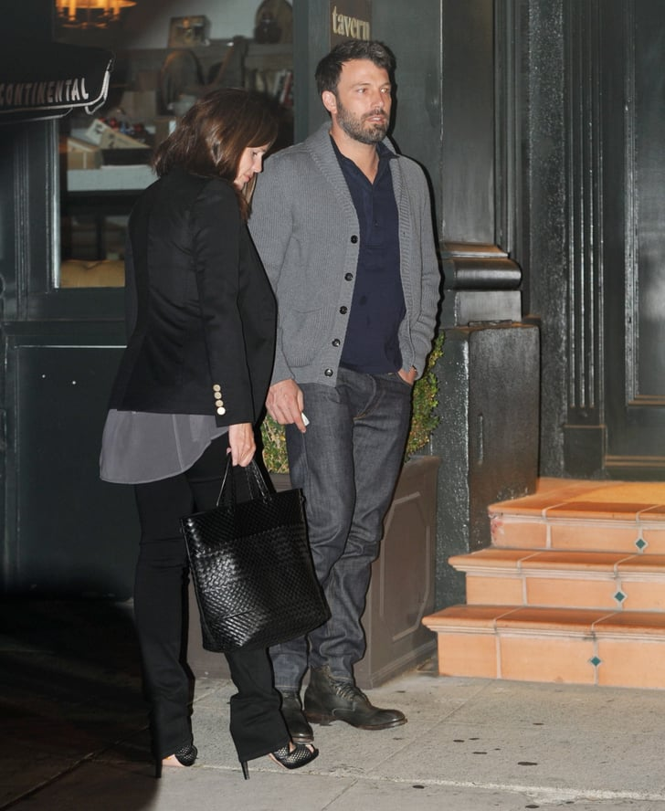 Jennifer Garner and Ben Affleck Celebrate Anniversary With a Dinner Date