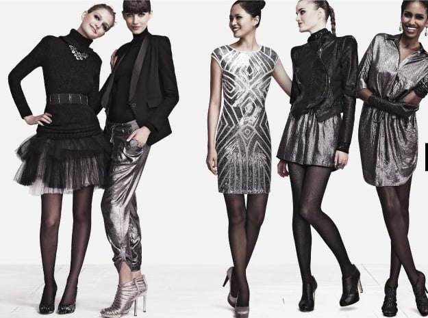 Sophisticated city women in a little sparkle.