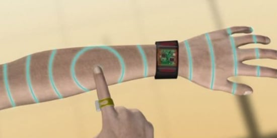 New Tech Turns Your Arm Skin Into A 'Touchpad'