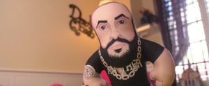Major Key Alert: You Can Carry DJ Khaled Around, Thanks to This Plush Toy