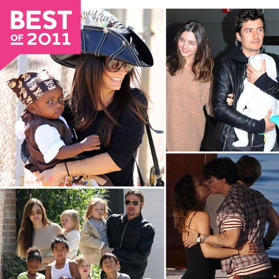 The Cutest Celebrity Family Photos of 2011!