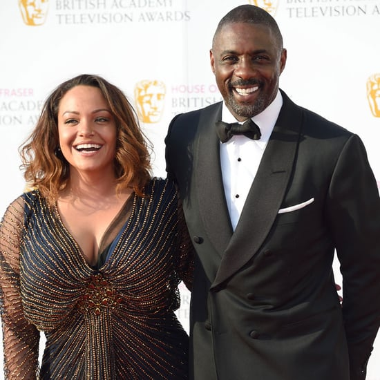 Idris Elba and Naiyana Garth at BAFTA Awards May 2016