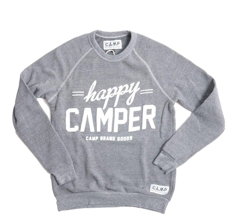 Happy Camper Fleece Crewneck