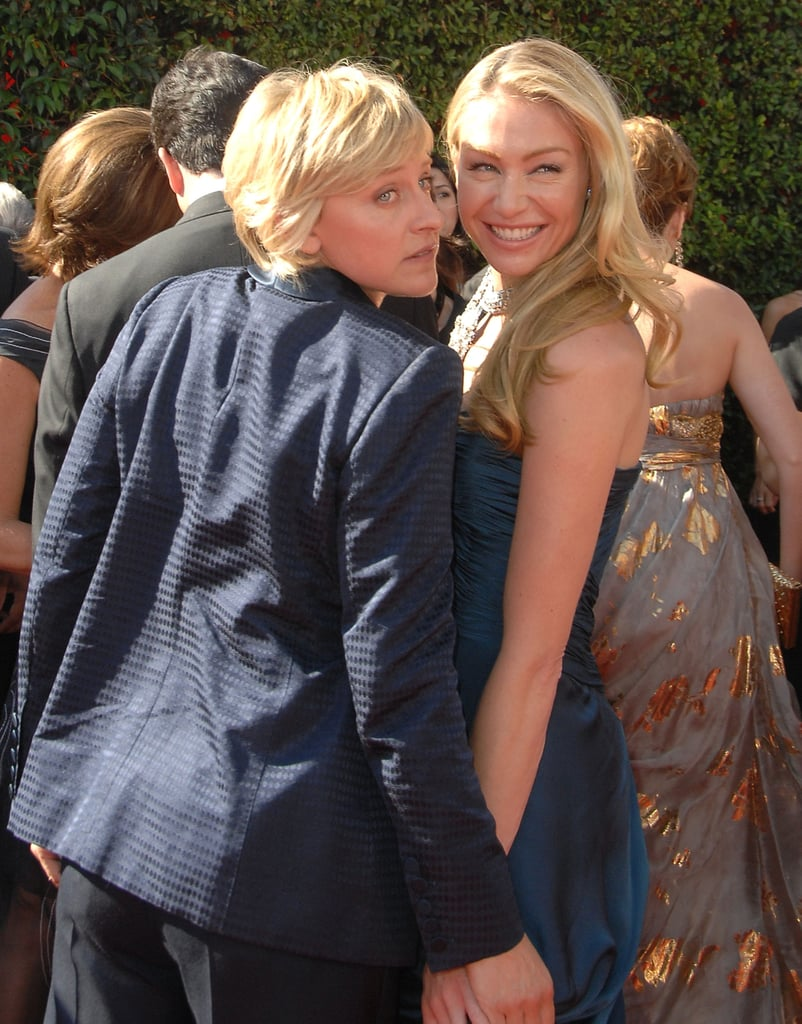 They got goofy on the carpet at the Emmys in September 2007.