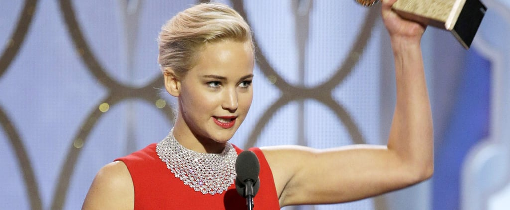 Jennifer Lawrence Gives a Creepy Shout-Out to David O. Russell in Her Acceptance Speech