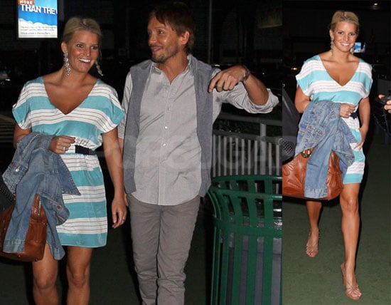 Photos of Jessica Simpson Out in NYC With Ken Paves