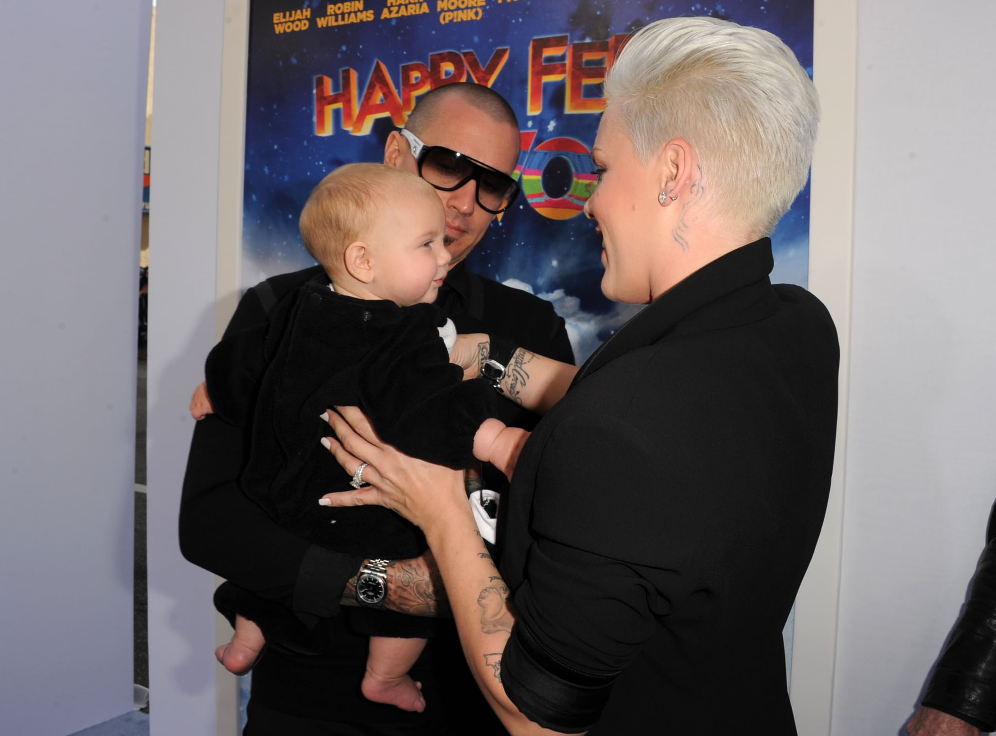 Willow, Carey Hart and Pink