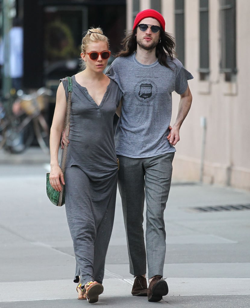 Sienna Miller and Tom Sturridge took a couple's stroll in NYC.