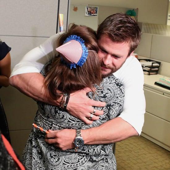Chris Hemsworth Surprises Secretary on The Ellen Show 2016
