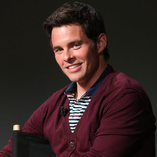 James Marsden Takes Selfie For Instagram | Video
