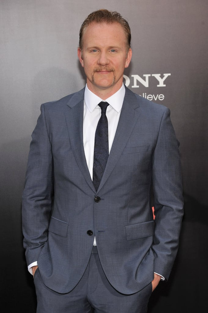 Producer Morgan Spurlock was all smiles at the NYC premiere of One Direction: This Is Us.