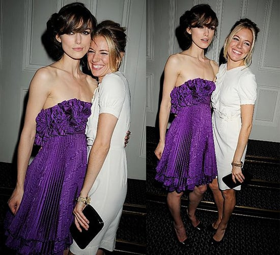 Keira Knightley and Sienna Miller at The Edge of Love Party