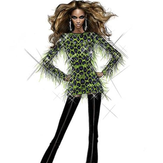 From Concept to Reality: Striking Sketches of Beyoncé's Designer Tour Costumes