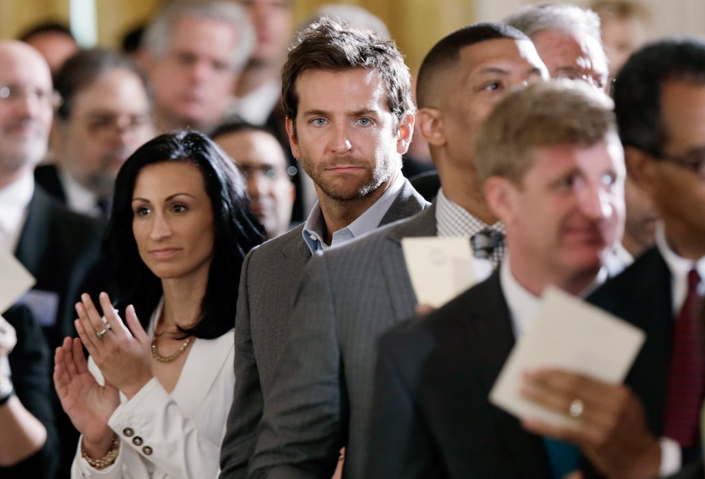 Bradley Cooper was in DC for the White House Conference on Mental Health.