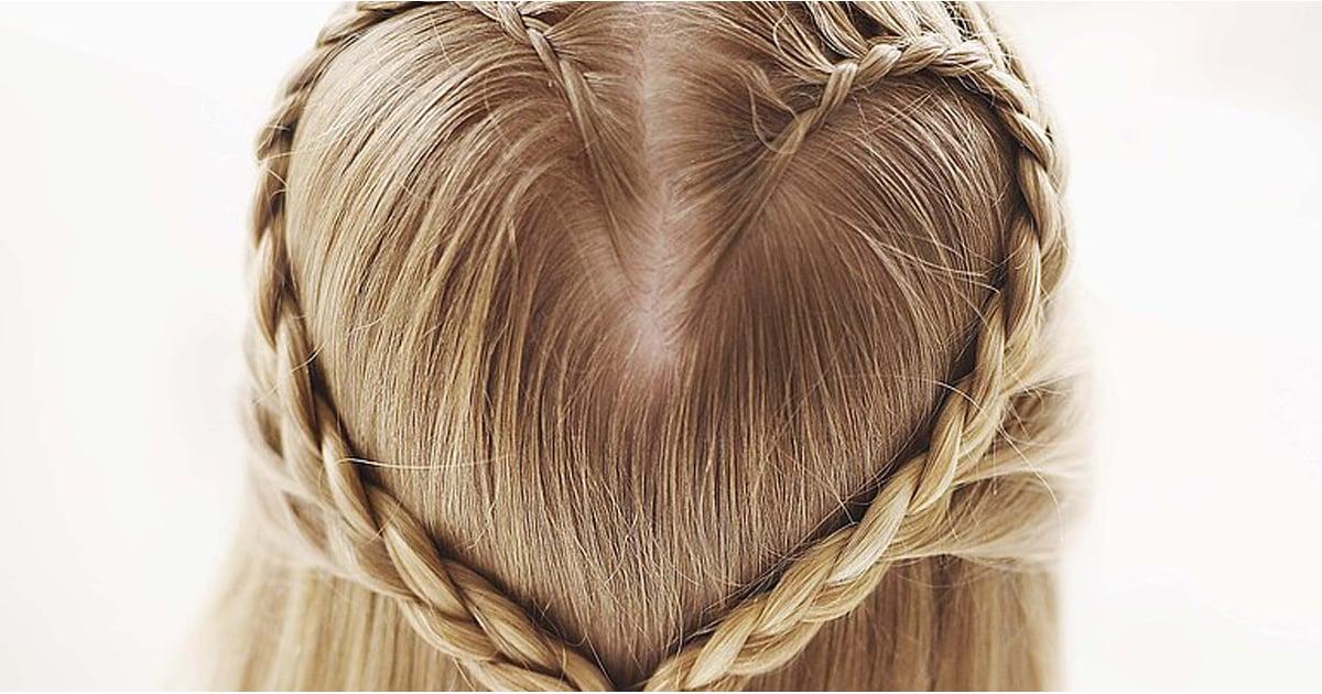Create a Heart Hair Braid For Valentine39;s Day  POPSUGAR Moms
