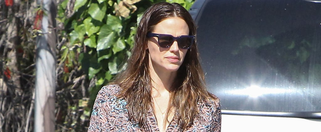 Jennifer Garner Soaks Up the LA Sunshine While Out and About on Her Birthday