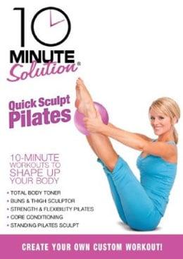 Review of 10 Minute Solution Quick Sculpt Pilates DVD