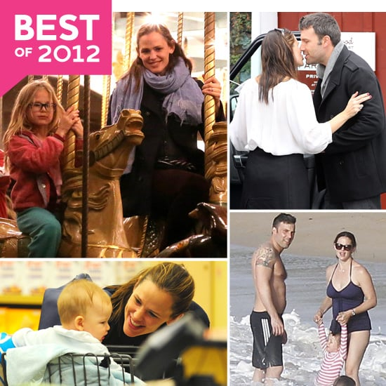 The Best Garner-Affleck Pictures From Their Memorable 2012