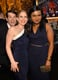Mindy Kaling and Anna Chlumsky got photobombed by Timothy Simons at the SAG Awards.