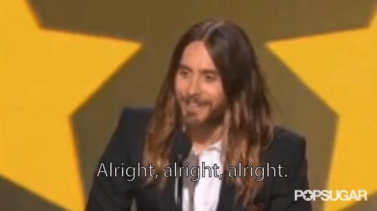 Jared Leto Did a Matthew McConaughey Impression