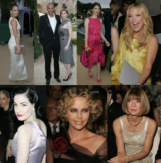 Lovely Ladies Head To Versailles For Dior