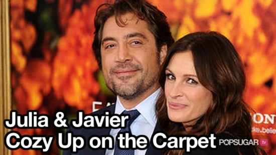 Video of Julia Roberts and Javier Bardem at the Eat Pray Love Premiere