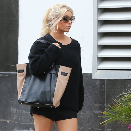Jessica Simpson Wears Short Shorts | Pictures