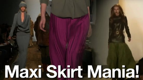 Must-Have Maxi Skirts! What's Fab at New York Fashion Week