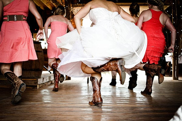 Bridal Party Cowgirl Boots