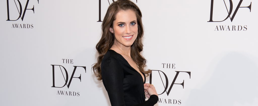 This Is the ONLY Designer Allison Williams Will Wear Boob Tape For