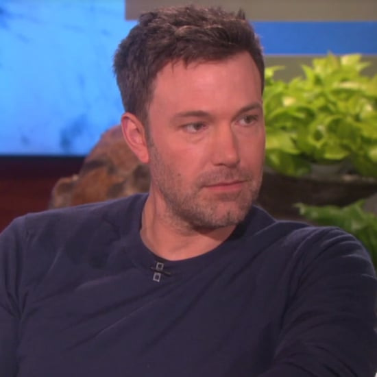Ben Affleck Talks About Jennifer Garner on Ellen 2016