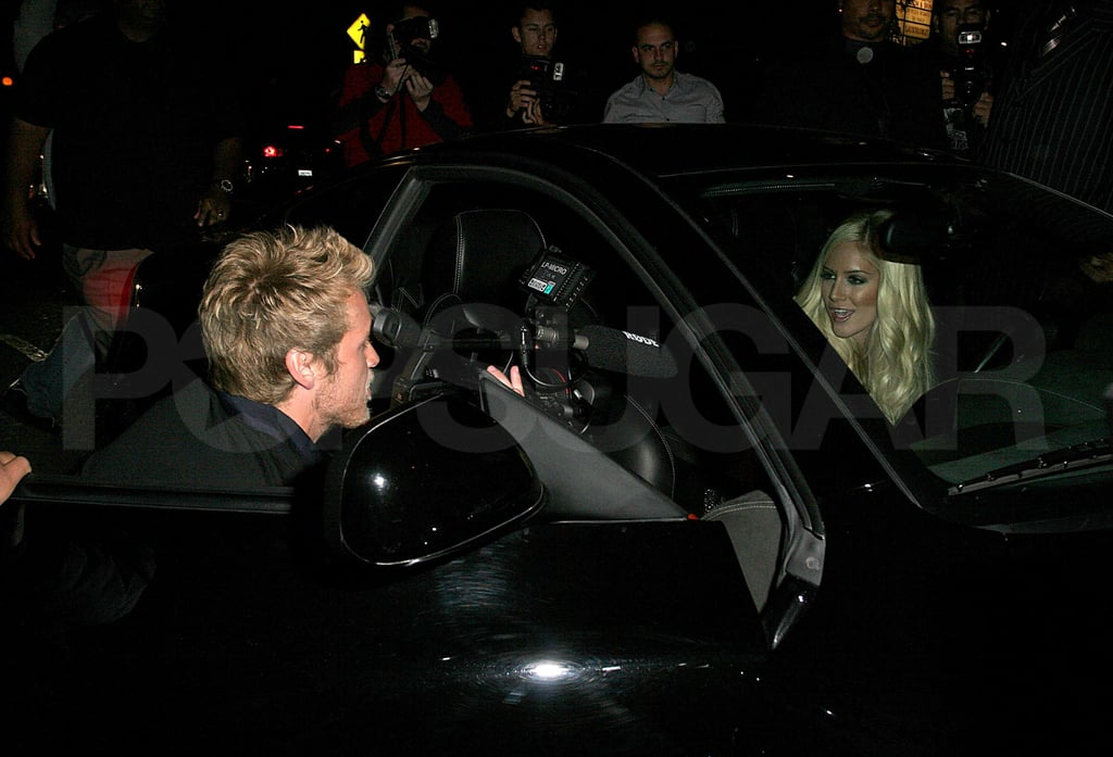 Heidi and Spencer Filming Music Video
