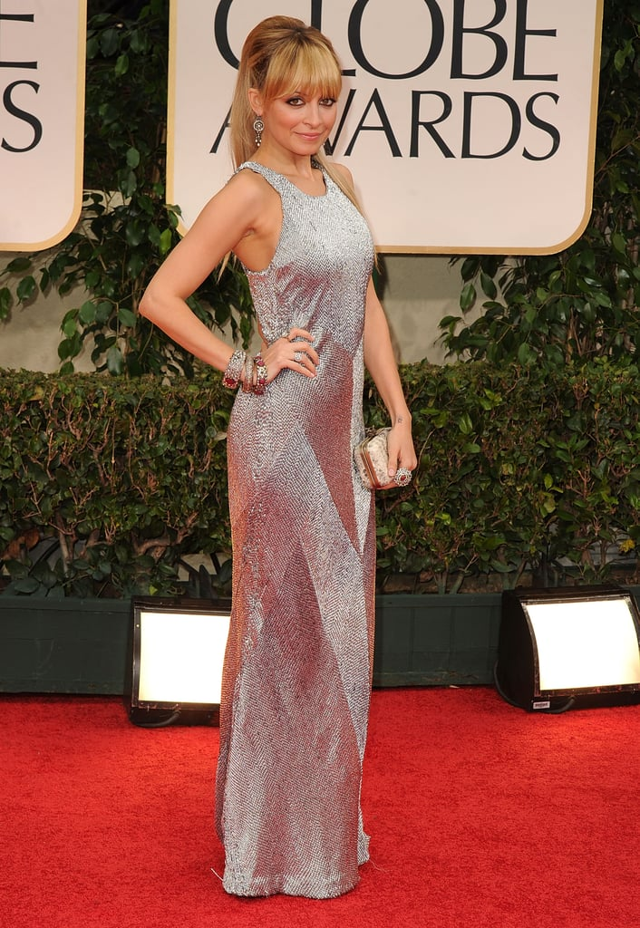 Nicole Richie in Julien Macdonald in 2012.
