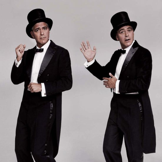 George Clooney Tuxedo Pictures in LA Times Magazine