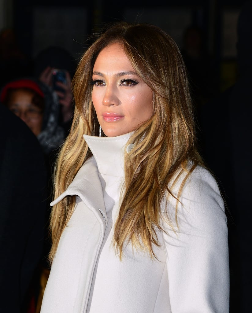 Jennifer Lopez screened her new film at MoMA in NYC.