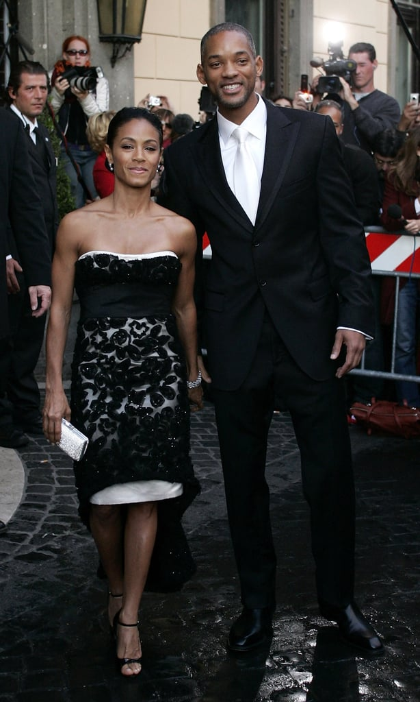 Jada Pinkett Smith and Will Smith went to Tom and Katie's wedding on Nov. 18, 2006.