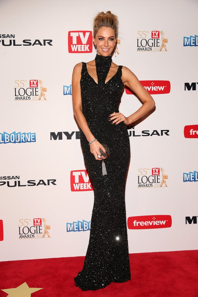 Jayson Brunsdon was the name on everyone's lips when Jen wore his gorgeous gown to the 2013 Logie Awards.