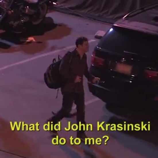 John Krasinski Pranks Jimmy Kimmel 2014 | Video