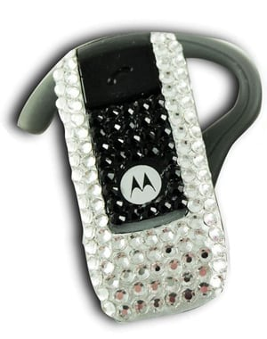 Bejeweled Bluetooth Headest: Totally Geeky or Geek Chic?