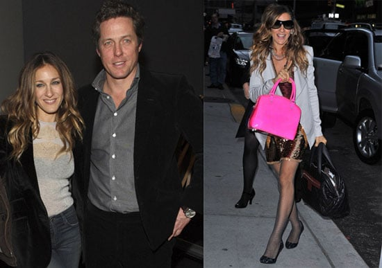 Photos of Sarah Jessica Parker Showing Off Twins Marion and Tabitha on The Late Show 2009-12-16 07:00:00