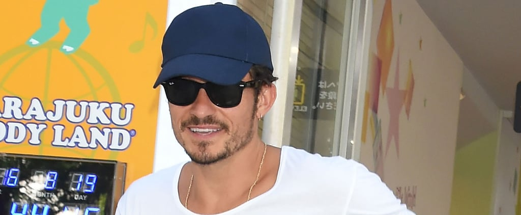 Orlando Bloom Can't Stop Smiling Amid Rumors He's Ready to Propose to Katy Perry