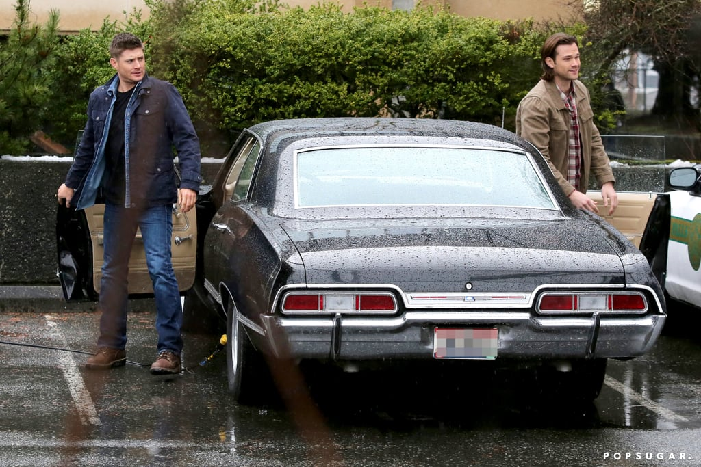 Jensen Ackles Really Knows How to Make an Entrance