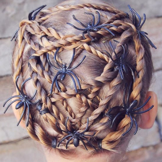 Halloween Braid Hairstyles For Kids