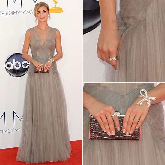 Emily VanCamp at the Emmys 2012