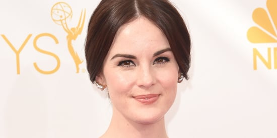 Michelle Dockery's 2014 Emmy's Dress Is Giving Us Pause