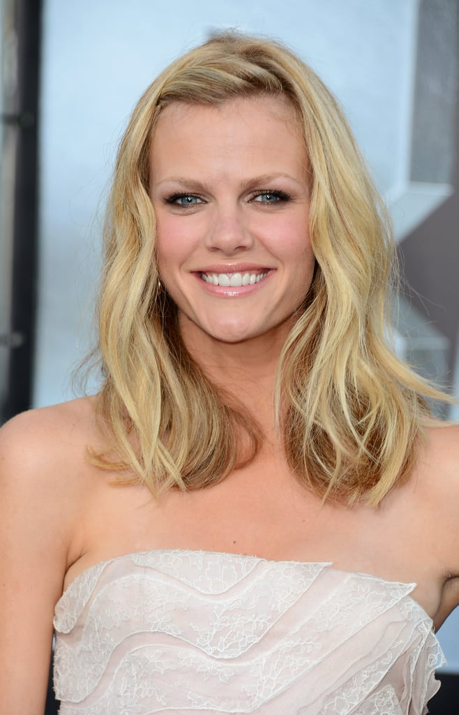 Brooklyn Decker was all smiles at the premiere of Battleship in LA.