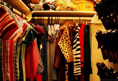 1. You can't ever find anything in your closet, so it makes a perfect place to hide. 2. The freebie tees you accumulated during college are still taking up valuable shelf space. 3. Your clothes are constantly wrinkled since you can never store anything properly.  Source: Touchstone Pictures