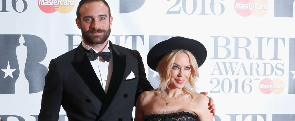 Newly-Engaged Kylie and Joshua Light Up the Brit Awards Red Carpet